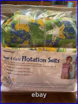WaterPals Boys & Girls Flotation Suit Size Medium 32-44 Lbs