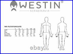 Westin W6 Flotation Suit XL YKK Zipper Combinaison Flottante