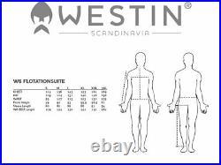 Westin W6 Flotation Suit XL YKK Zipper Wind Protection