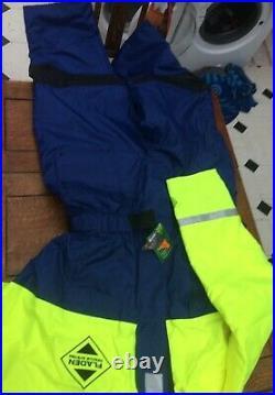 XXL 1pc Fladen Floatation Suit Flotation Suit Immersion Fishing Sailing Boating